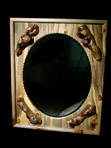 Blue Pine Wall Mirror
