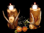 Juniper Candle Holders
