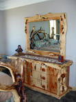 Juniper Dresser with Mirror